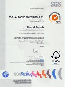 FSC 证书