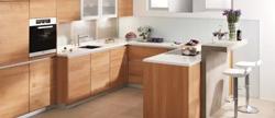 立柜、吊柜、抽屉有效避免厨房拥挤