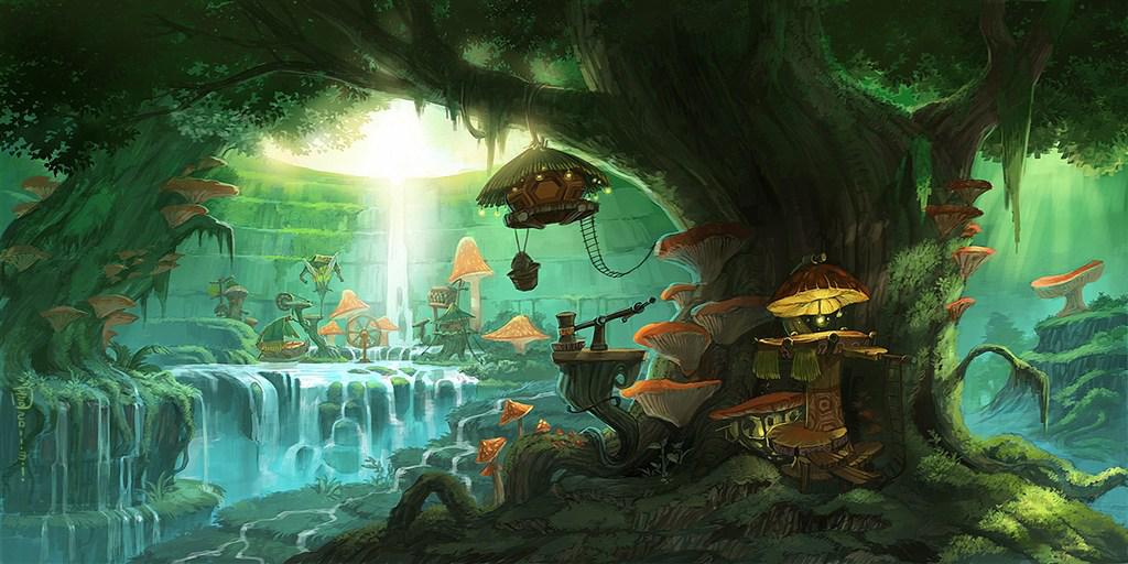 天然木饰面板丨带你走进童话里的森林王国