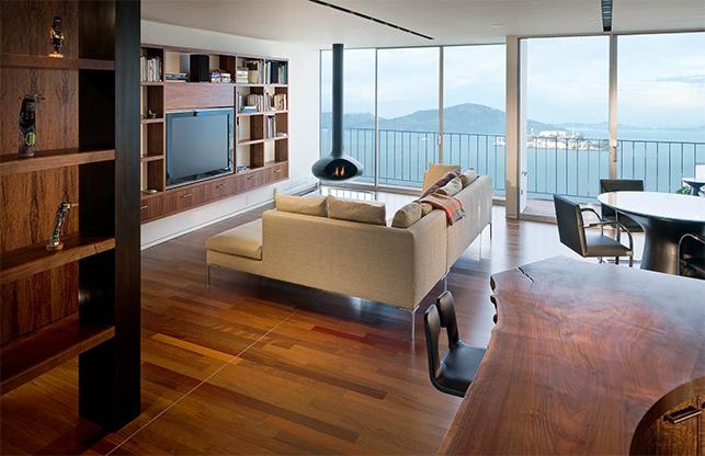 天然木饰面板,装饰木色温暖空间