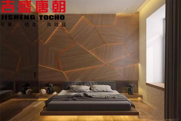 """有这样的木饰面卧室,才叫""""好背景铺好梦"""""""