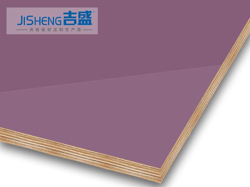 吉盛uv高光夹板PETG橱柜门材料JS3020高光夹板
