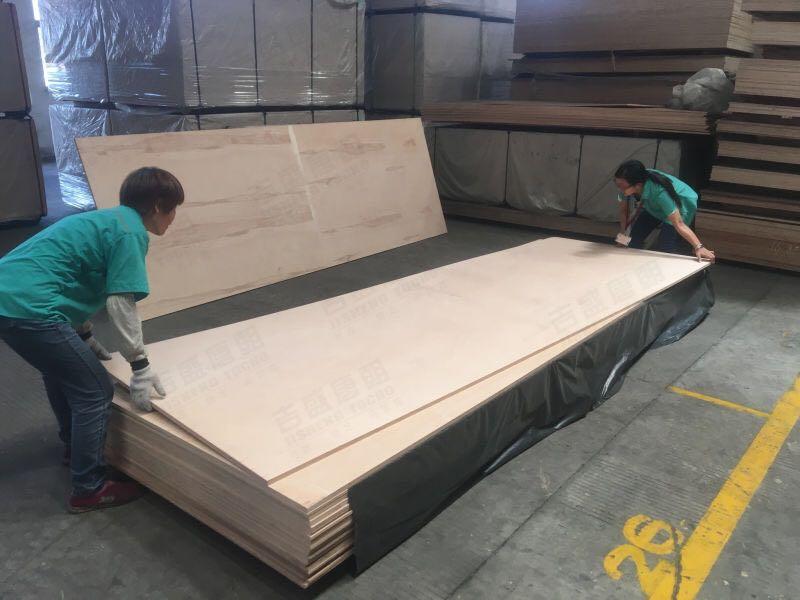 3米66加长家具板(最大尺寸可达4x 12尺)榉 木胶合板