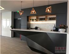 吉盛PETG榉木胶合板 JS3032板门板 大金空调展厅应用