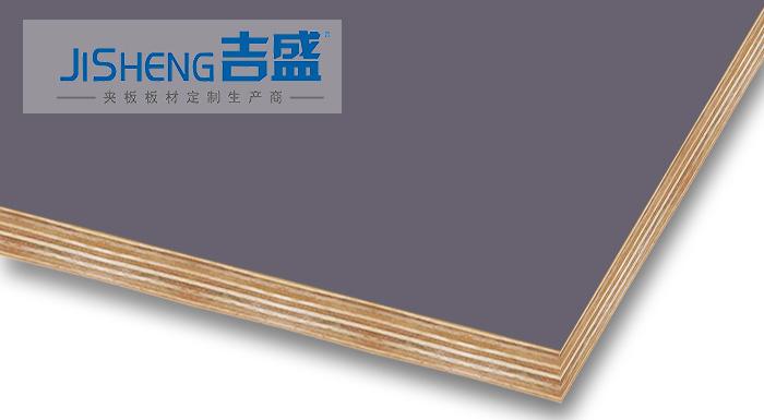 PETG贴面多层胶合板E0级橱柜门板材