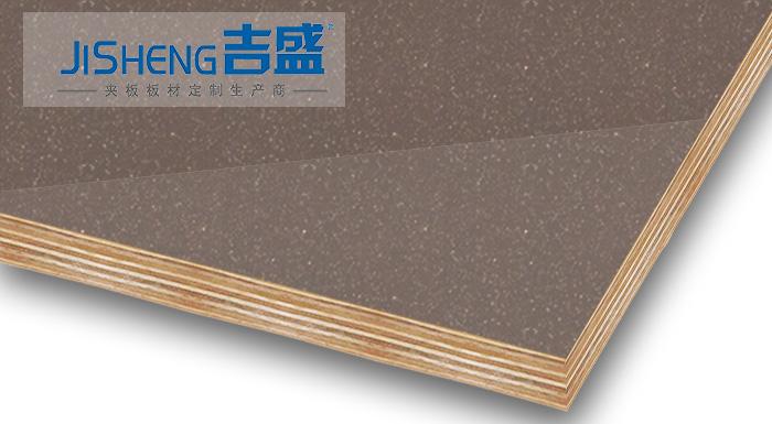 吉盛高光PETG贴面夹板LCT3016_新型橱柜装饰板材
