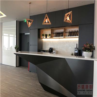 吉盛UV-PETG榉木胶合板 JS3032板门板 大金空调展厅应用
